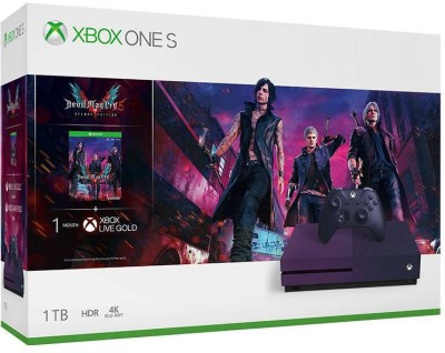 Microsoft Xbox One S 1 TB withDevil May Cry 5 Deluxe Edition