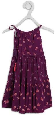 Cherokee Girls Midi/Knee Length Casual Dress