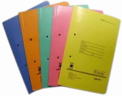 Excel Paper Paper Cobra Files with Spring Inside(Pack of 10)