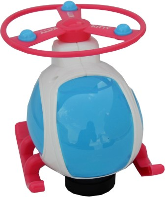 Miss & Chief Musical Helicopter Toy With Light For Kids