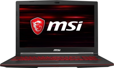 MSI GL63 Core i5 9th Gen - (8 GB/512 GB SSD/Windows 10 Home/4 GB Graphics) 9RC-080IN Gaming Laptop