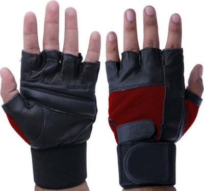 JMO27Deals Weight Lifting Palm & Wrist Support Gym & Fitness Gloves