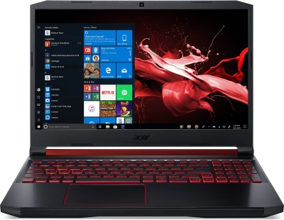 Acer Nitro 5 Core i5 9th Gen - (8 GB/1 TB HDD/256 GB SSD/Windows 10 Home/4 GB Graphics) AN515-54 Gaming Laptop