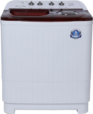 Avoir 7.5 kg Semi Automatic Top Load Washing Machine Red, White