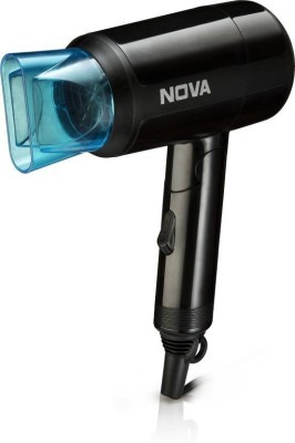 Nova Silky Shine 1200 w Hot and cold Foldable NHP 8105 Hair Dryer