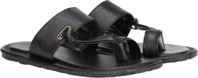 Metronaut Men Black Sandals