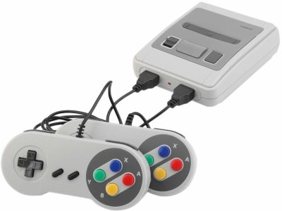 REES52 gmngcnsl12 NA GB with 1 x Classic SFC Game Console 2 x Game Controller 1 x HDMI Cable 1 x Charger 1 x Manual