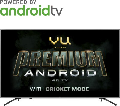 Vu Premium Android 138cm (55 inch) Ultra HD (4K) LED Smart Android TV  with Cricket Mode