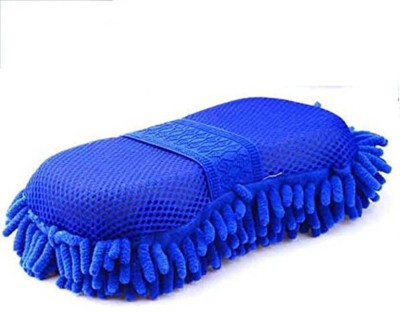 SAI ENTERPRISE TT-M21 Dry and Wet Vehicle cleaning Mitt Sponge