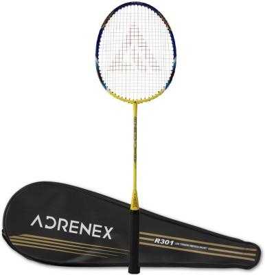 Adrenex by Flipkart R301 Blue, Yellow Strung Badminton Racquet