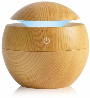 Paybox Mini Portable Wood Humidifier Office Desktop Home Water Spray Portable Room Air Purifier