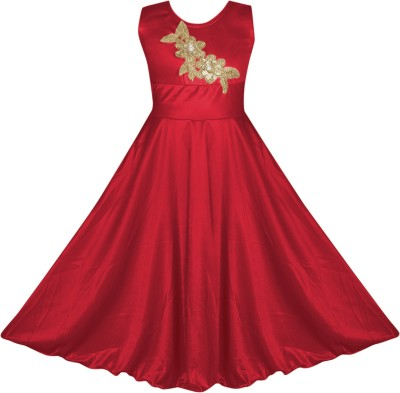 Fashion Dream Indi Girls Maxi/Full Length Party Dress