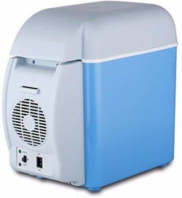 OCTOPUSPRIME Refrigerator-0002020 Portable Mini Fridge with AC and DC Power Cords for Car and Home 7.5 L Car Refrigerator