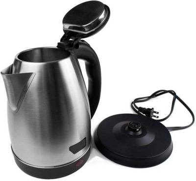 Zeom ™SC-1838 Electric Kettle with STRIX | FAST BOIL v2.1 Safe Auto Shut-off 2.0 Liter Electric Kettle  (1.8 L, Silver) Electric Kettle