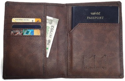 WALTZ Passport CASE Made of Leatherite with Extra SIM Card Slots