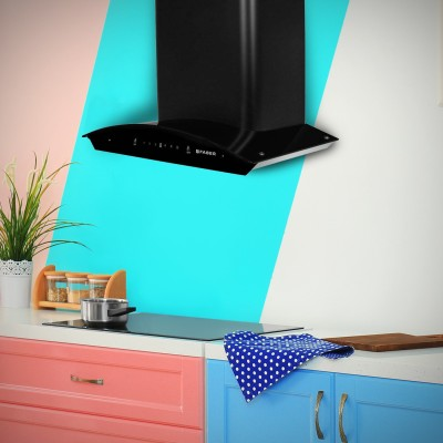 FABER Hood Primus Energy TC HC BK 60 Wall Mounted Chimney