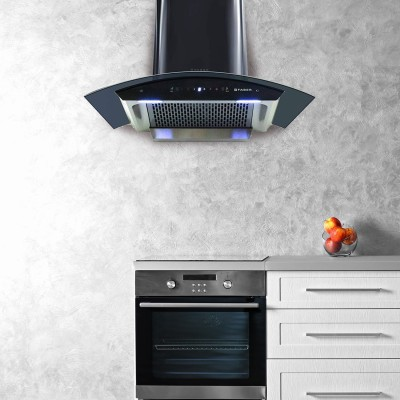 FABER Hood Crest HC SC BK 90 Wall Mounted Chimney