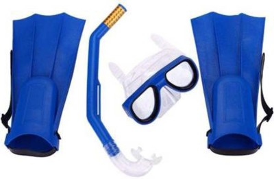 Feeling Mall Diving Mask Snorkel Fins Set Swimming Kit