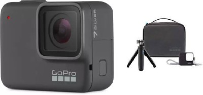 GoPro Hero7 (Travel Kit) Sports and Action Camera
