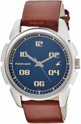 Fastrack NG3124SL02 Bare Basic Analog Watch  - For Men