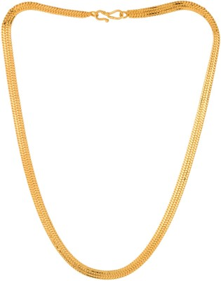 Thrillz Trendy & Fancy Broad Thick Design Classic Chain for Men/Boys Gold-plated Plated Brass Chain