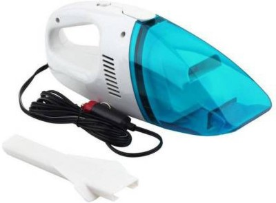 Onshoppy Portable 12- V Car Vaccum Cleaner Car Vacuum Cleaner  (blue and white) Wet & Dry Cleaner