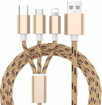 Shopepro 3 in 1 Micro USB Charger Cable for Android V8 Thunderbolt Cable