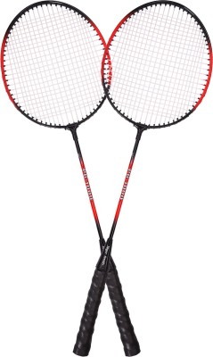 Jager-Smith PB1000 Combo Red Strung Badminton Racquet