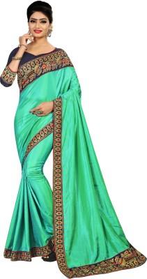 MISILY Self Design Fashion Silk Blend Saree