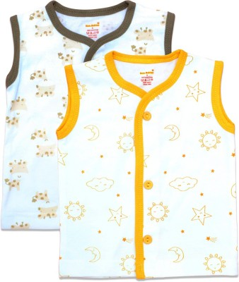 Born Babies Boy's & Girl's Floral Print Cotton Blend T Shirt