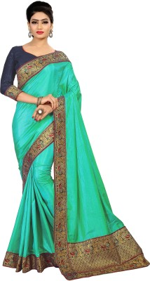 MISILY Printed Fashion Silk Blend Saree