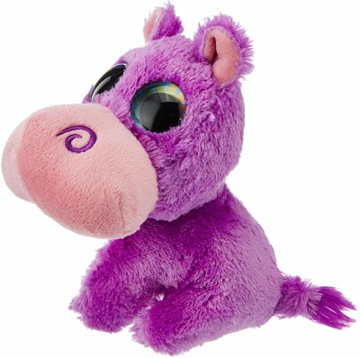 E-Chariot Soft Toys L'il Sweet & Sassy Hippo Plush Stuffed Animal (13714) 6 Inches  - 15 cm