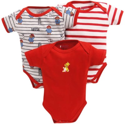BUMZEE Baby Boys & Baby Girls Red Bodysuit