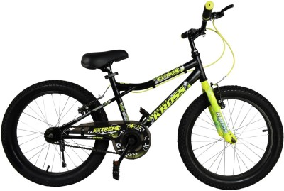 Kross Extreme 2.40 Bike For Kids Of Age 5-8 Yrs Black & Yellow 20 T Recreation Cycle