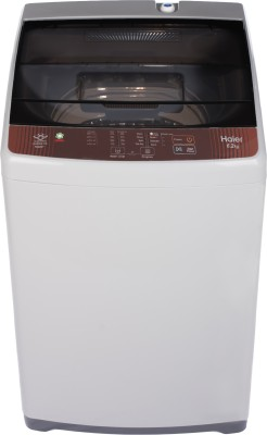 Haier 6.2 kg Fully Automatic Top Load Brown, Grey