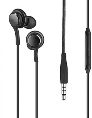 Gazzet 4G Black Headphones Wired Headset with Mic