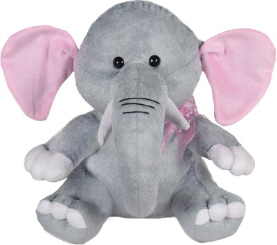 Miss & Chief Baby Elephant Soft Toy  - 11 inch