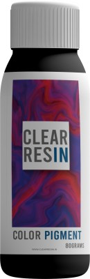 CLEAR RESIN Epoxy/Resin Colour Pigment - Black (80 Grams)