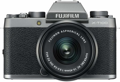 Fujifilm X Series X-T100 Mirrorless Camera Body with XC 15 - 45 mm Lens F3.5 - 5.6 OIS PZ