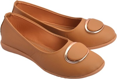 Debba Band Light weighted Latest Collection PU Leather Trendy Flat Heel Bellies For Women