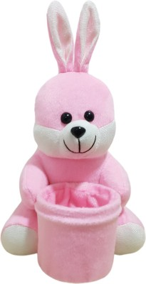 Miss & Chief Bunny Pen Stand Premium Soft Toy  - 8 inch