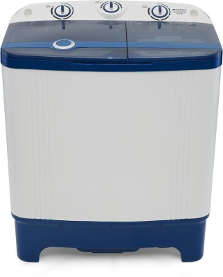 Sansui 6.2 kg Pro Wash Semi Automatic Top Load Washing Machine White, Blue