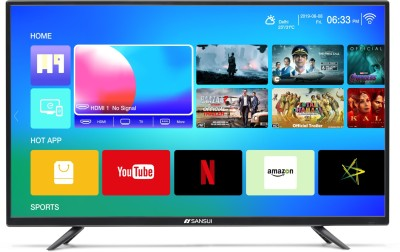 Sansui Pro View 102cm (40 inch) Full HD LED Smart TV 2019 Edition
