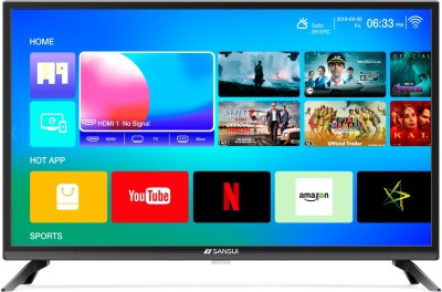 Sansui Pro View 80cm (32 inch) HD Ready LED Smart TV 2019 Edition  with WCG