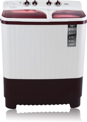 MarQ by Flipkart 7.5 kg Semi Automatic Top Load Washing Machine Maroon