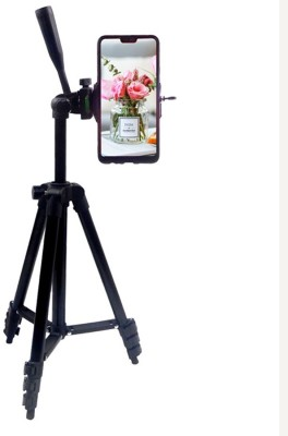 LIFEMUSIC Best Digital Camera Lightweight Tripod And Portable Stand Tripod Aluminum Metal for DSLR /Action Camera /Mobile /Smartphones /Digital 3 Way Pan & Tilt Camera - 3120 Tripod