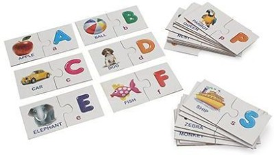 Miss & Chief ALPHABET JIGSAW PUZZLE FOR KIDS TO LEARN ALPHABET AND OBJECTS