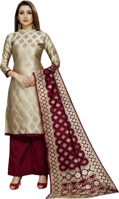 INDIAN CULTURE Brocade Woven Salwar Suit Material