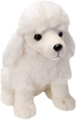 E-Chariot Soft Toys Sitting Poodle Plush Stuffed Animal  - 12 cm