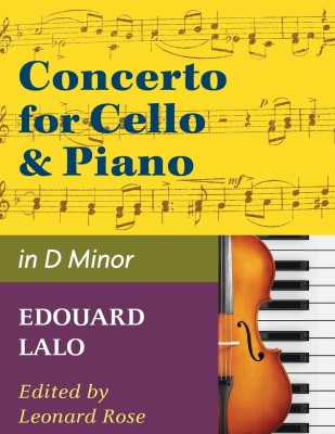 International Music Co. Lalo Concerto in D Minor for Cello and Piano